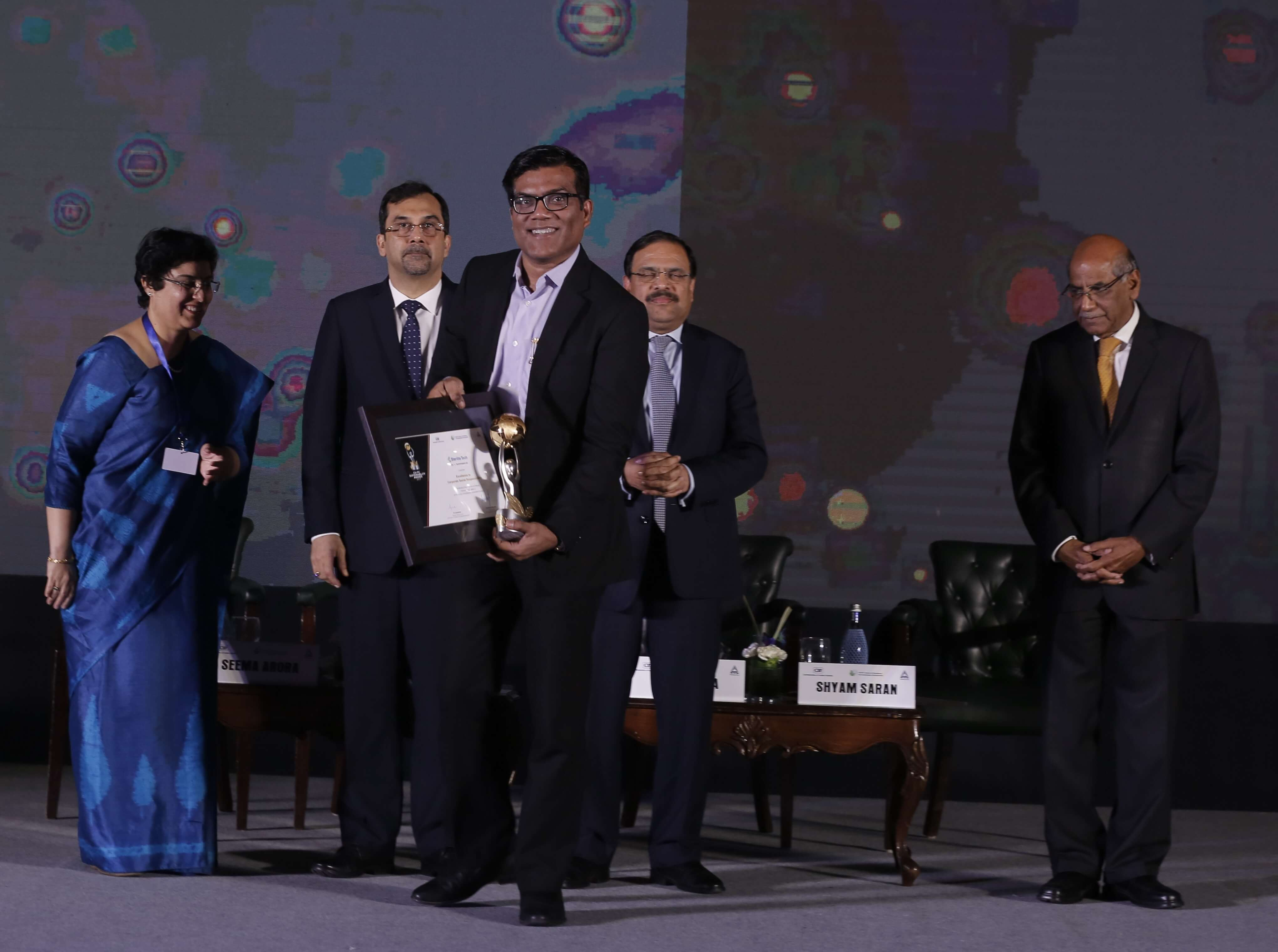 Sterlite Tech Wins CII-ITC Sustainability Award 2017 for Excellence in Corporate Social Responsibility