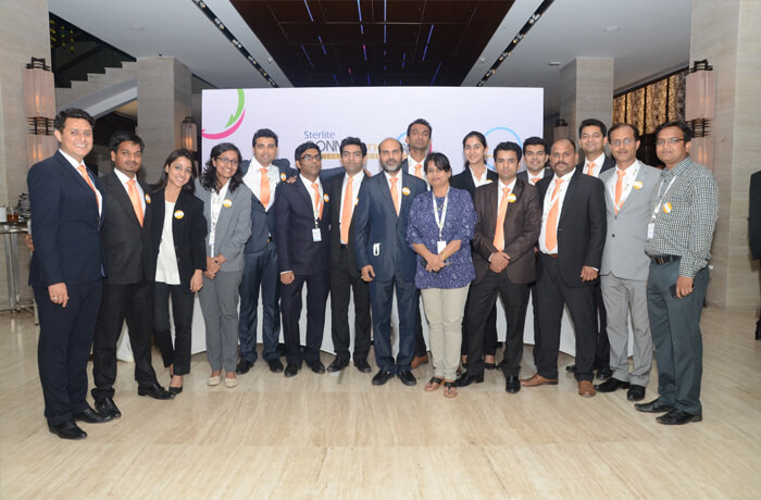 Team Sterlite at Connfluence 2015