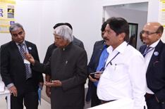 Dr Kalam takes a tour of CoE