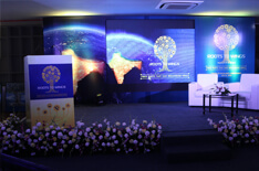 The stage at the inaugural function