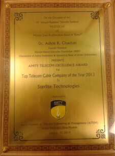 Top Telecom Cable Company 2013